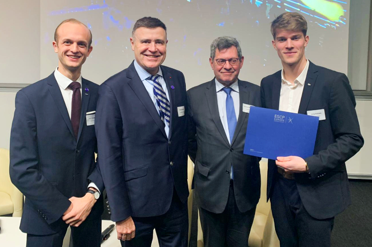 Christoph Koenig ESCP Innovation Prize