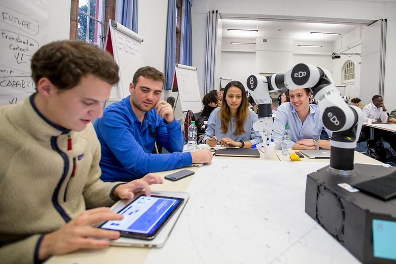 Robotics Workshop at the ESCP London Campus